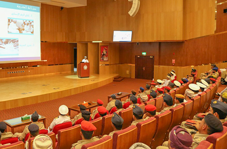 NCSI chief delivers lecture at Sultan's Armed Forces