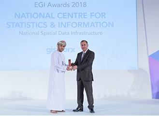 NCSI wins Excellence in GeoSpatial Implementation award for developing state-of-the-art GIS applications